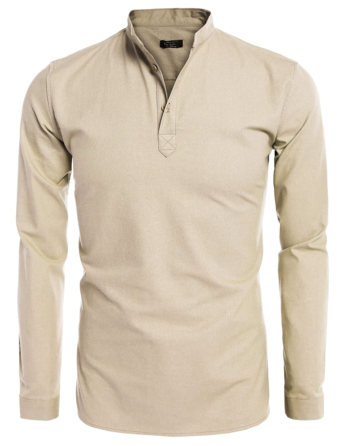3f570a19db6a12 Mens Grandad Shirts Linen – EDGE Engineering and Consulting Limited