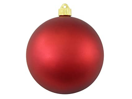 Christmas by Krebs CBK80590 Shatterproof Christmas Ball Ornament, 6-Inch,  Red Alert - Amazon.com: Christmas By Krebs CBK80590 Shatterproof Christmas Ball
