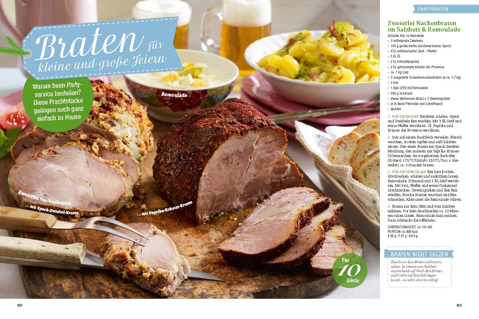 Sommerküche Moewig : Kochen & genießen feste feiern: leckere rezepte für familie und