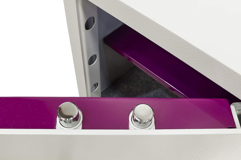 Arregui - Caja Fuerte sobremesa electrónica beige claro metalizado Forma Evolution: Amazon.es: Bricolaje y herramientas
