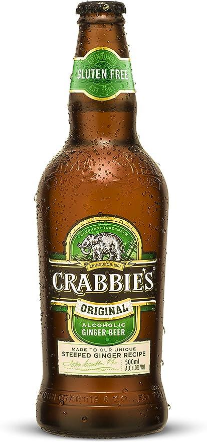 Crabbie S Original Alcoholic Ginger Beer Case Of 12 500 Ml Amazon Co Uk Grocery