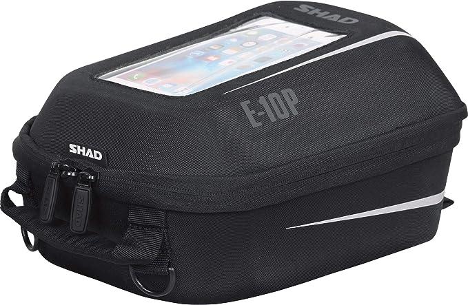 SHAD X0SE10P Bolsa Depósito E10P Pin System, Negro, 6.6: Amazon.es: Coche y moto