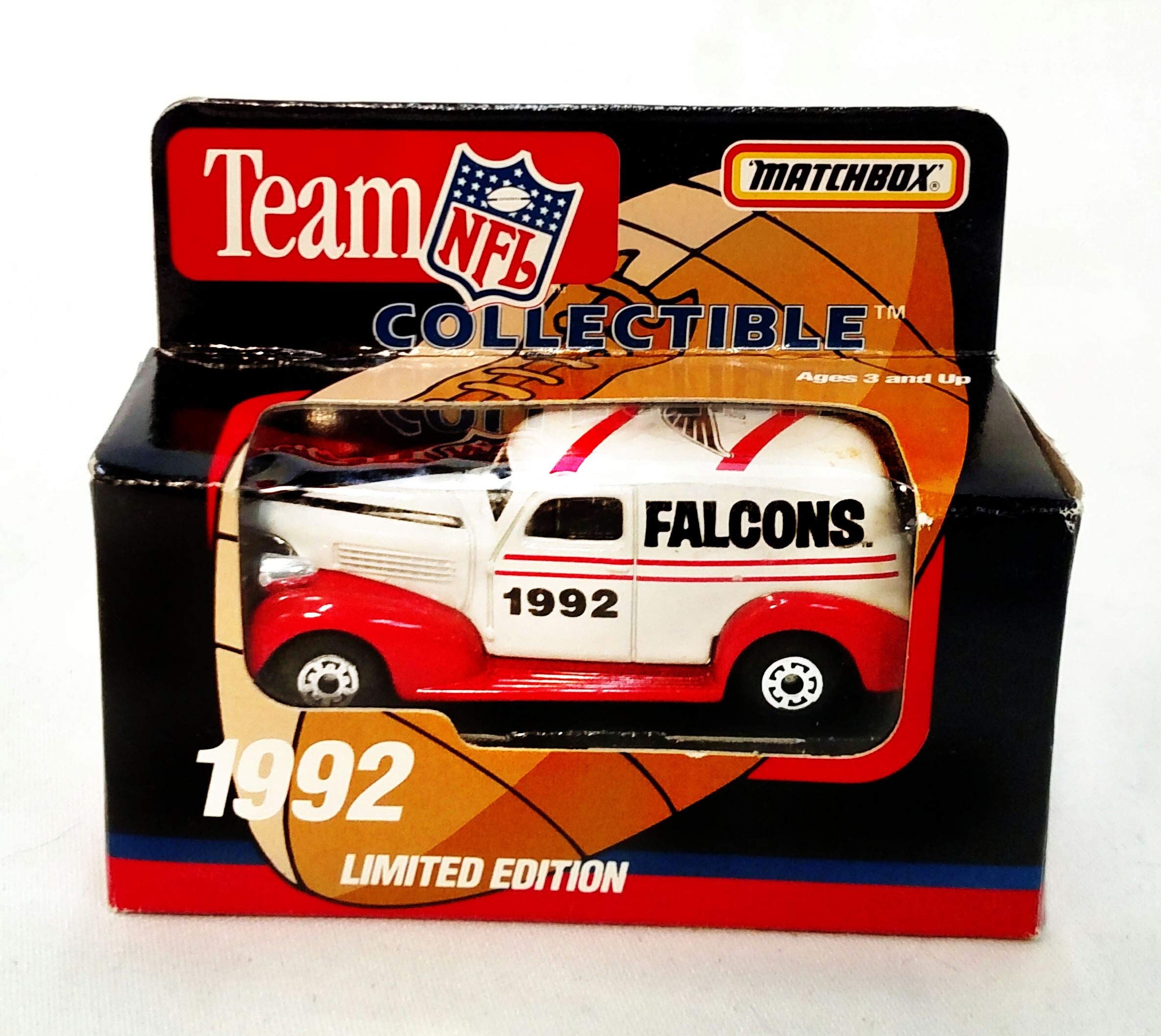 Atlanta Falcons 1992 Limited Edition Matchbox Die Cast Collectible