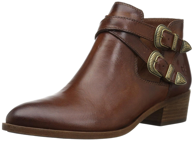 FRYE Women's Ray Western Shootie Ankle Boot B071JSN6TR 9 B(M) US|Cognac