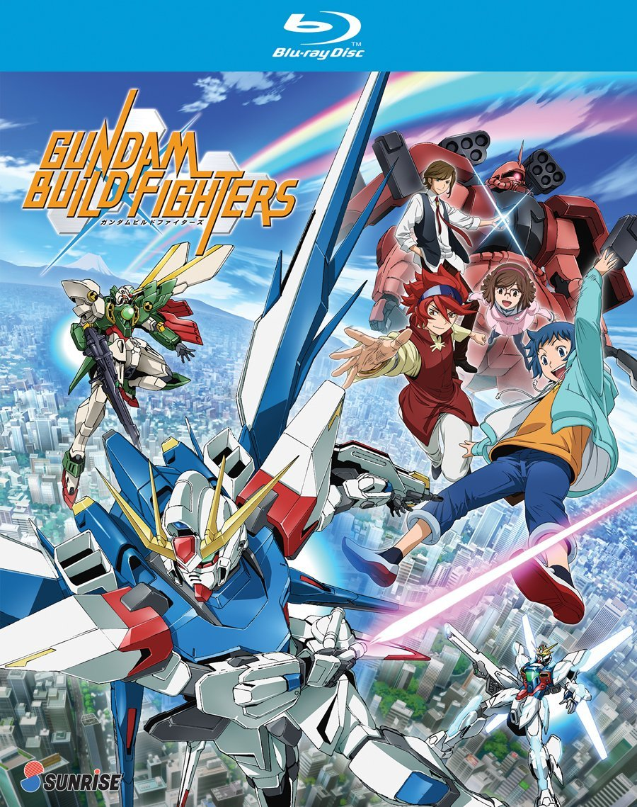 Blu-ray : Gundam Build Fighters: Complete Collection (3 Pack, 3 Disc)