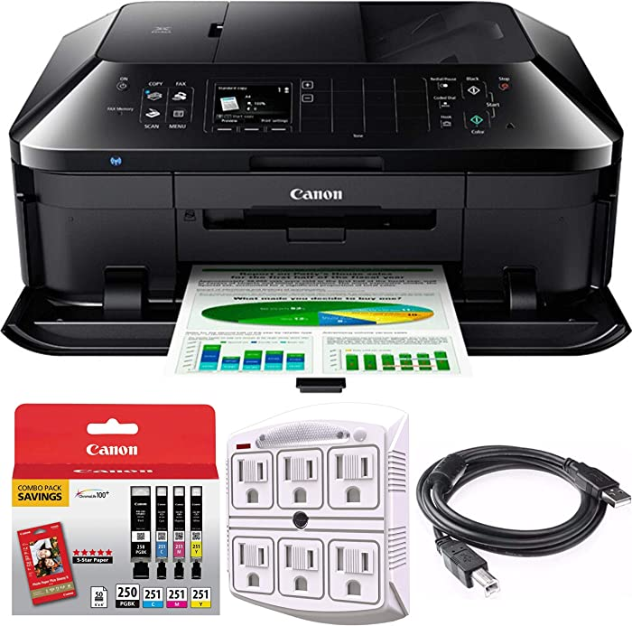 Top 10 Canon Pixma Mx922 Wireless Inkjet Office