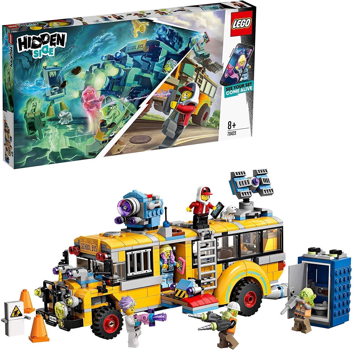 466 Pi/èces La f/ête foraine hant/ée LEGO/® Hidden Side 70432 Jeu en R/éalit/é Augment/ée 8 Ans Et Plus