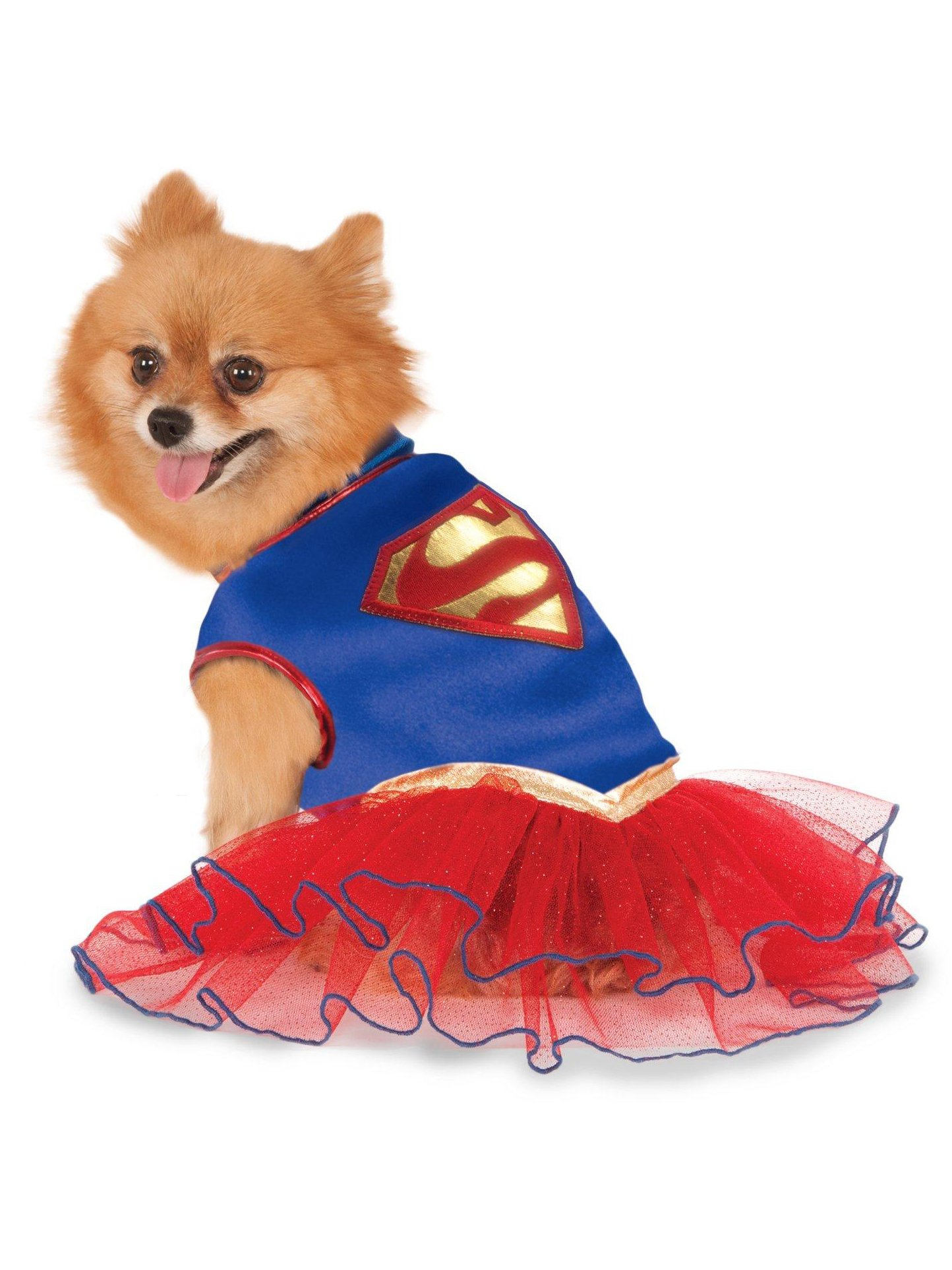 Rubie's DC Comics Super Girl Pet Tutu Dress, Medium