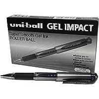 Uniball Signo UM153S Gel Impact Pen- Broad - Black - Box of 12