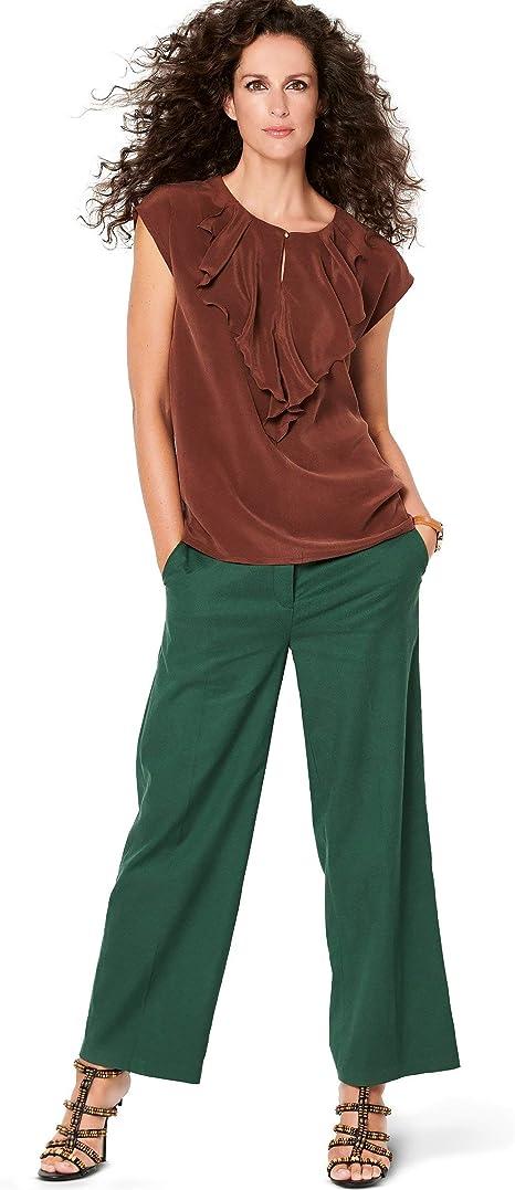 Burda 6212 - Patrón de Costura para Camisa de Mujer (Nivel 2 ...
