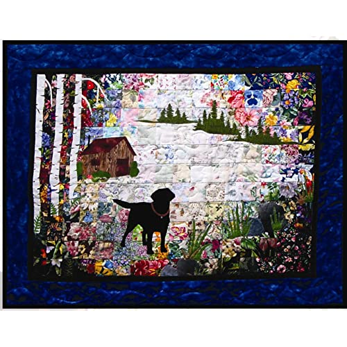 Whims Watercolor Quilt Kits Labrador Retriever Quilting Supplies