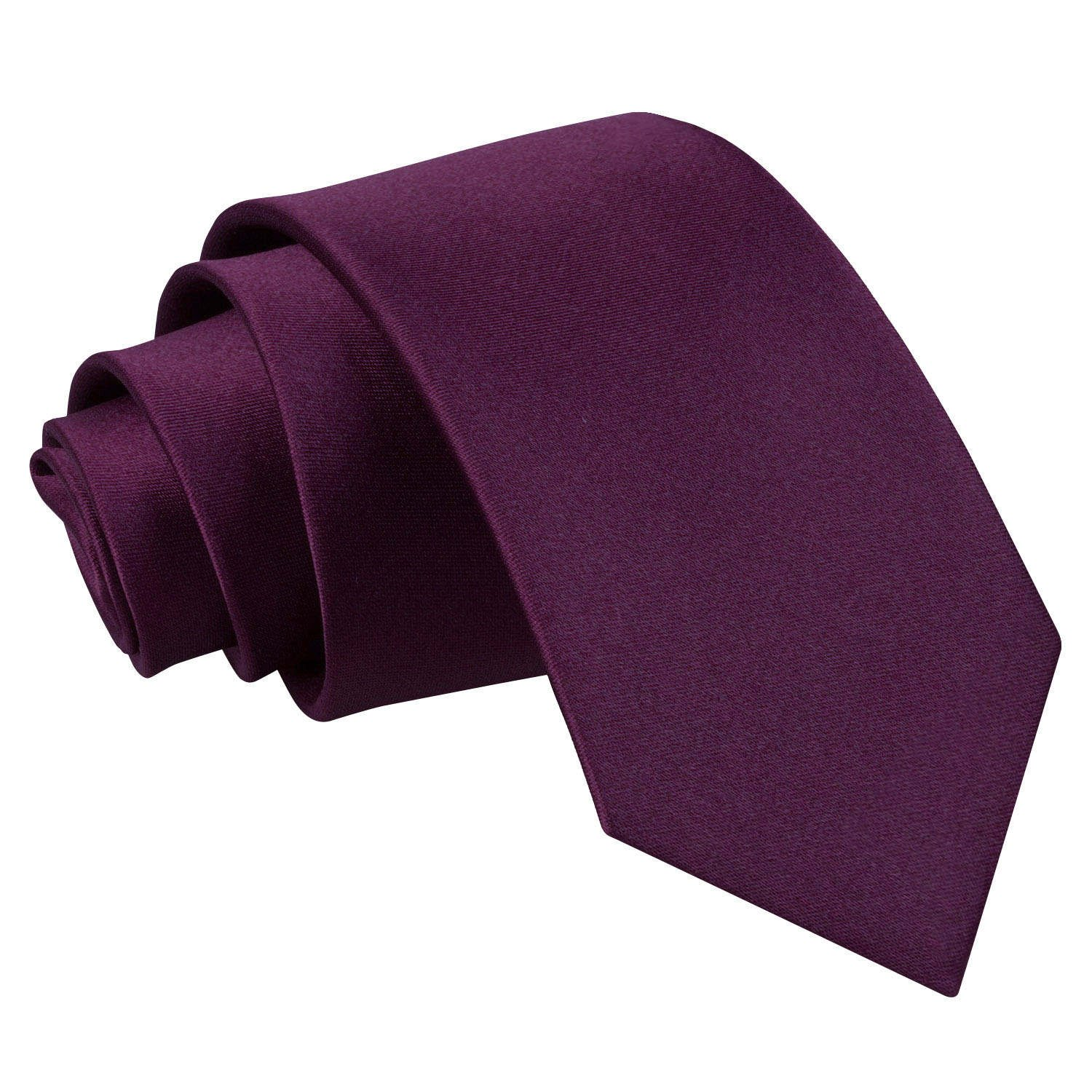 8+ Years Old with Free Matching Handkerchief DQT Boys Plain Satin Formal Wedding Neck Tie