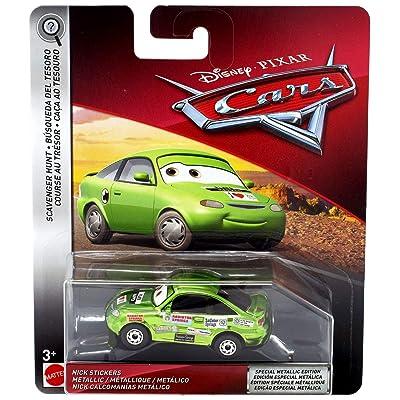 Disney Pixar Cars Metallic Nick Stickers: Toys & Games