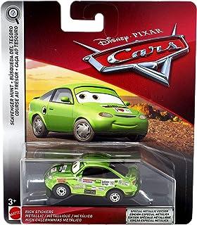 Silver Nigel Gearsley Car Mattel Toys BBN19