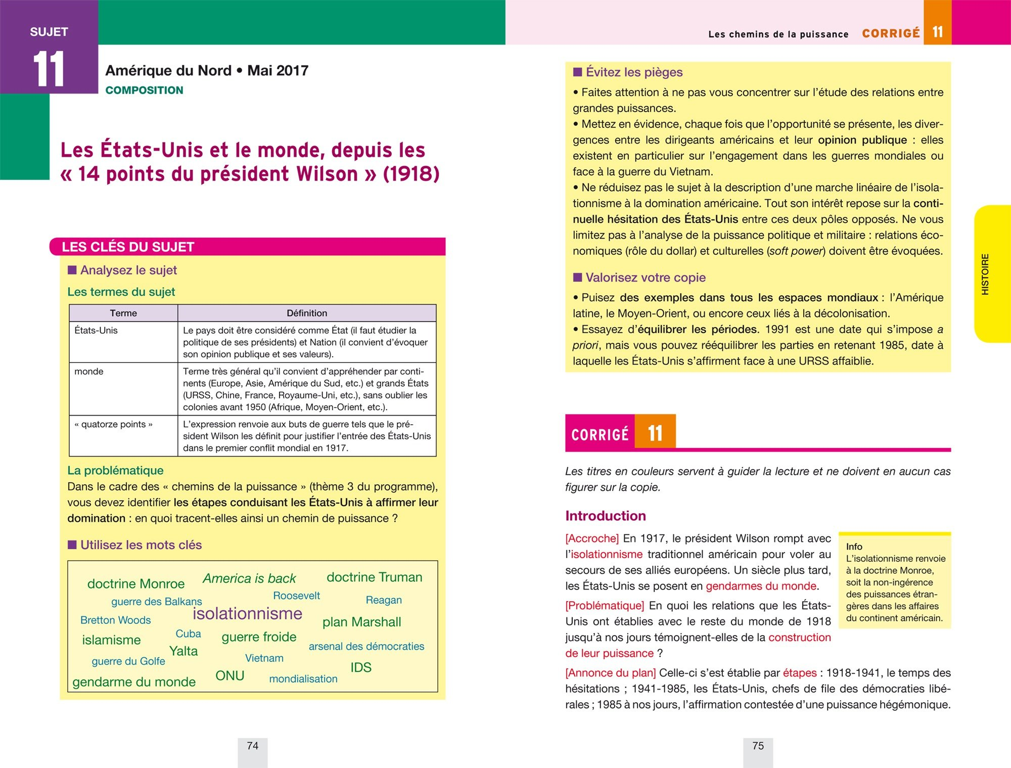 Annales Annabac 2018 Histoire-Géographie Tle L, ES: sujets et corrigés du bac Terminale L, ES: Amazon.es: Christophe Clavel, Jean-François Lecaillon: Libros ...