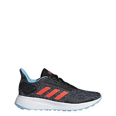 new style 84ddc 6d17c adidas Performance Unisex-Kids Duramo 9 Running Shoe, BlackSolar RedGrey