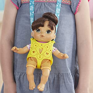 Littles by Baby Alive, Carry 'N Go Squad, Little Nadia (Amazon Exclusive)