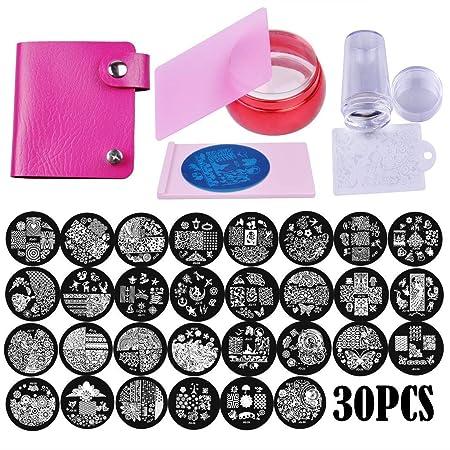 Biutee Nail Stamping Kit