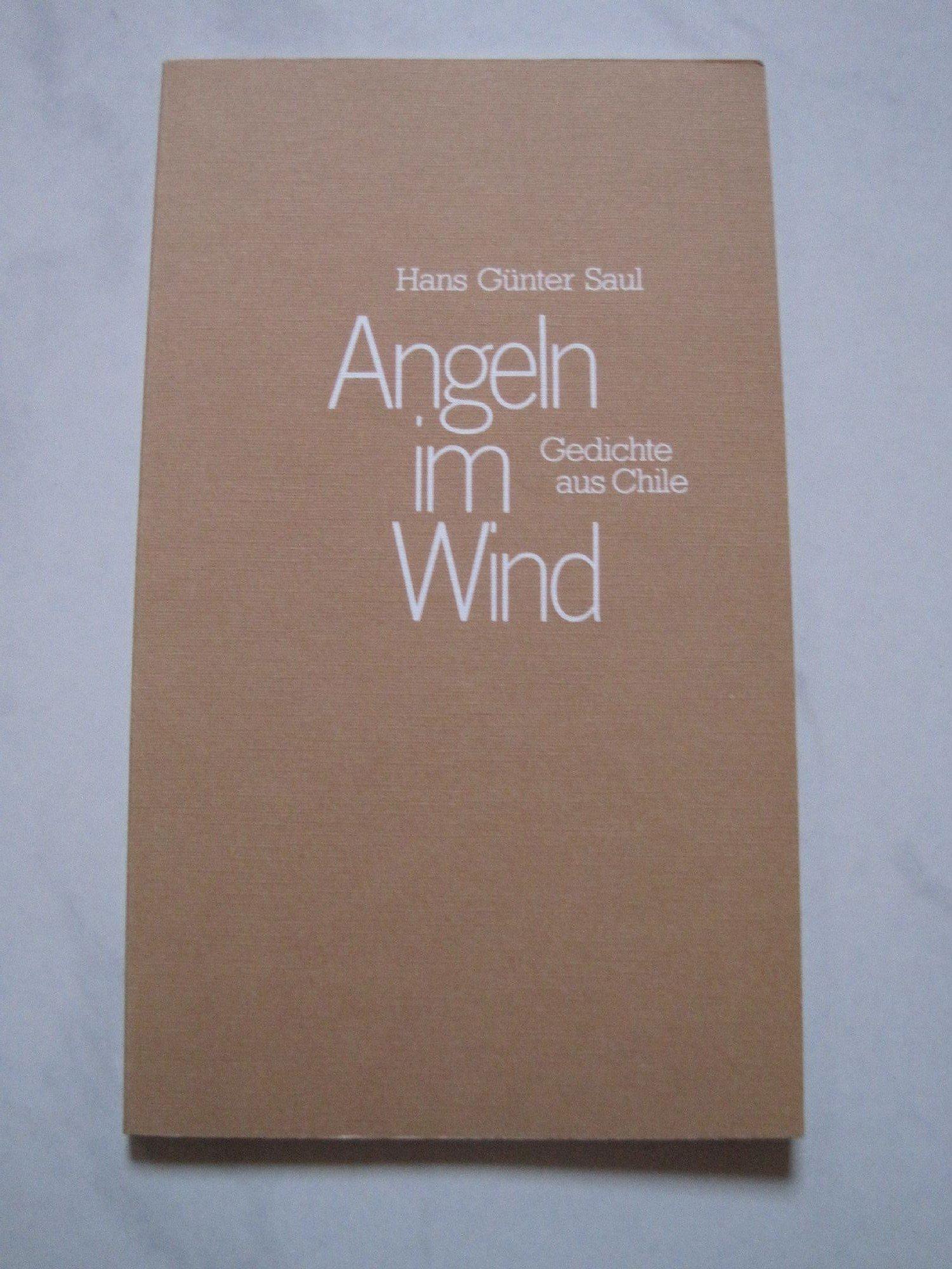 Angeln Im Wind Gedichte Aus Chile Amazonde Hans Günter