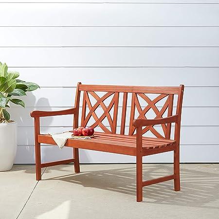 decorative folding chairs.htm amazon com vifah v1493 outdoor wood garden bench  decorative  vifah v1493 outdoor wood garden bench