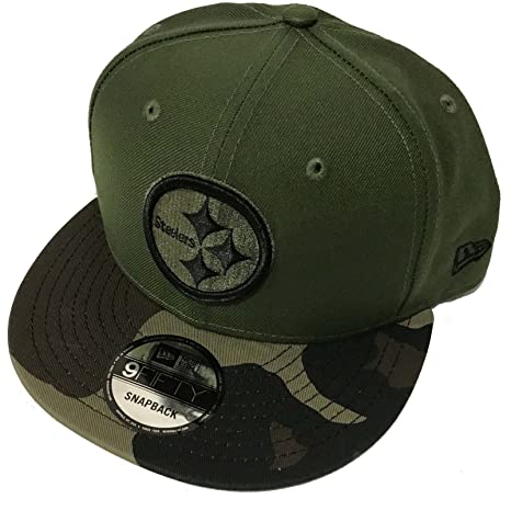 Image Unavailable. Image not available for. Color  Authentic Pittsburgh  Steelers Salute To Service Limited Exclusive 9FIFTY Snapback Cap 5098c37f908