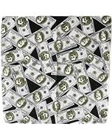 bandana dollar billet us usa 54x54 monnaie biker moto motard hip hop