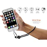 Smartphone Wrist Strap & Neck Strap with Grip Patch