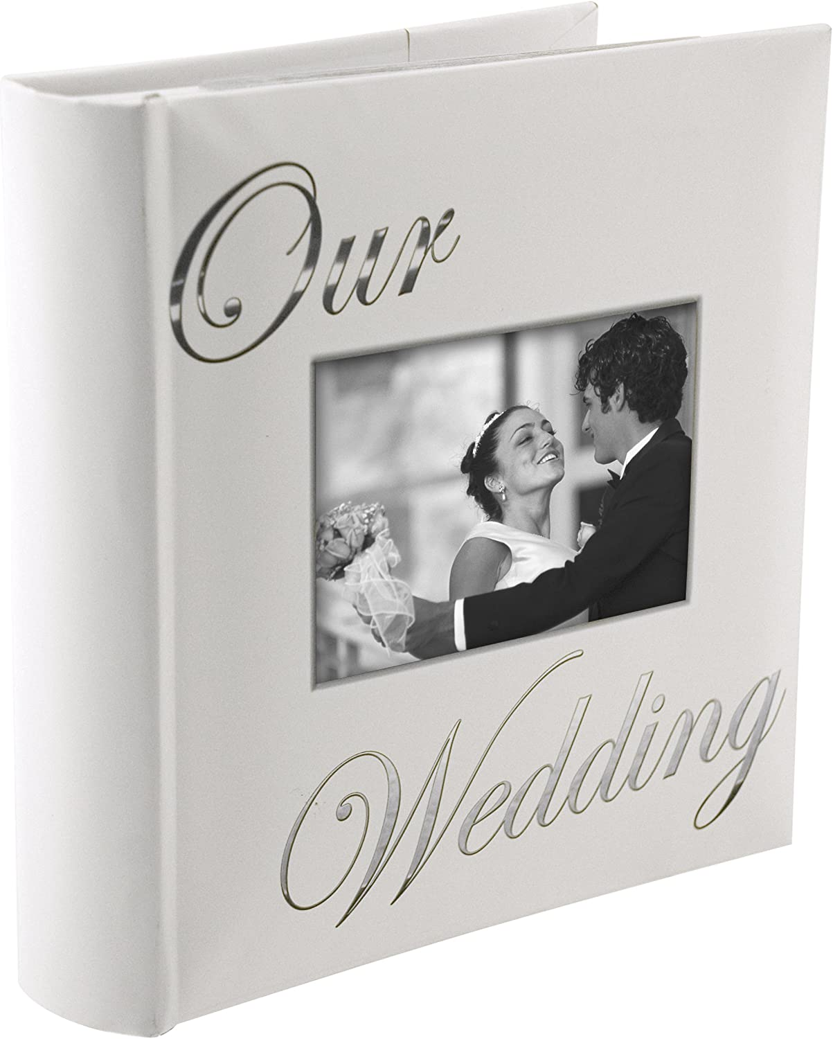 OUR WEDDING album by Malden holds 160 photos - 4x6
