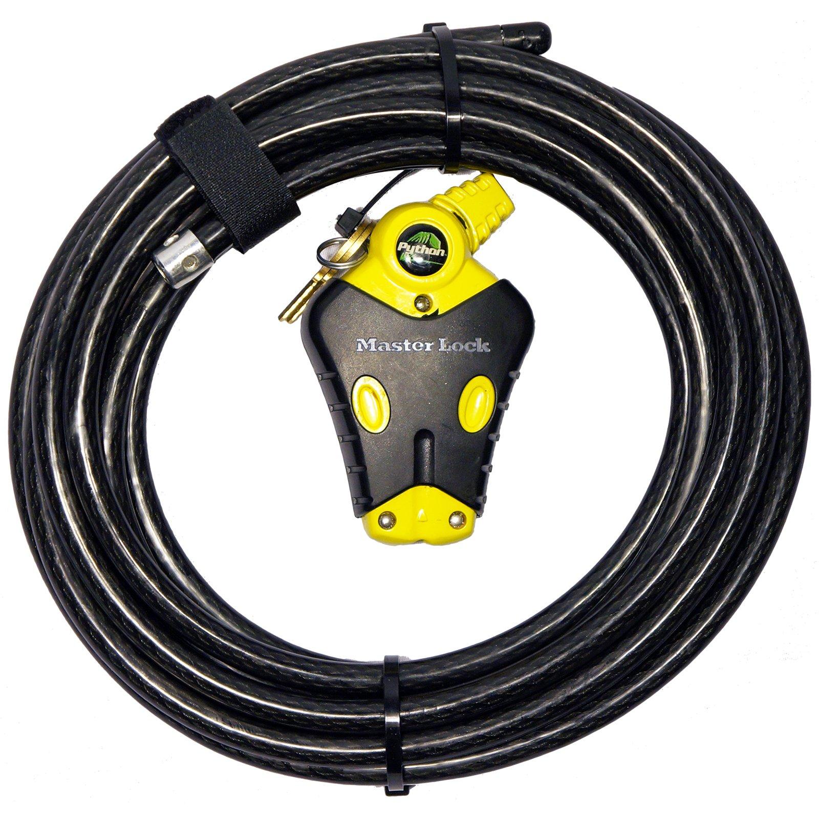 Master Lock 1 Python Adjustable Cable Lock, 8413KACBL-20