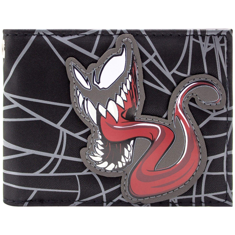 Cartera de Venom Animado Symbiote Negro Eddie Brock 31445