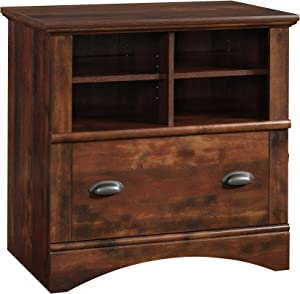 "Sauder 422114 Harbor View Lateral File, L: 31.97"" X W: 21.18"" X H: 31.06"", Curado Cherry finish"