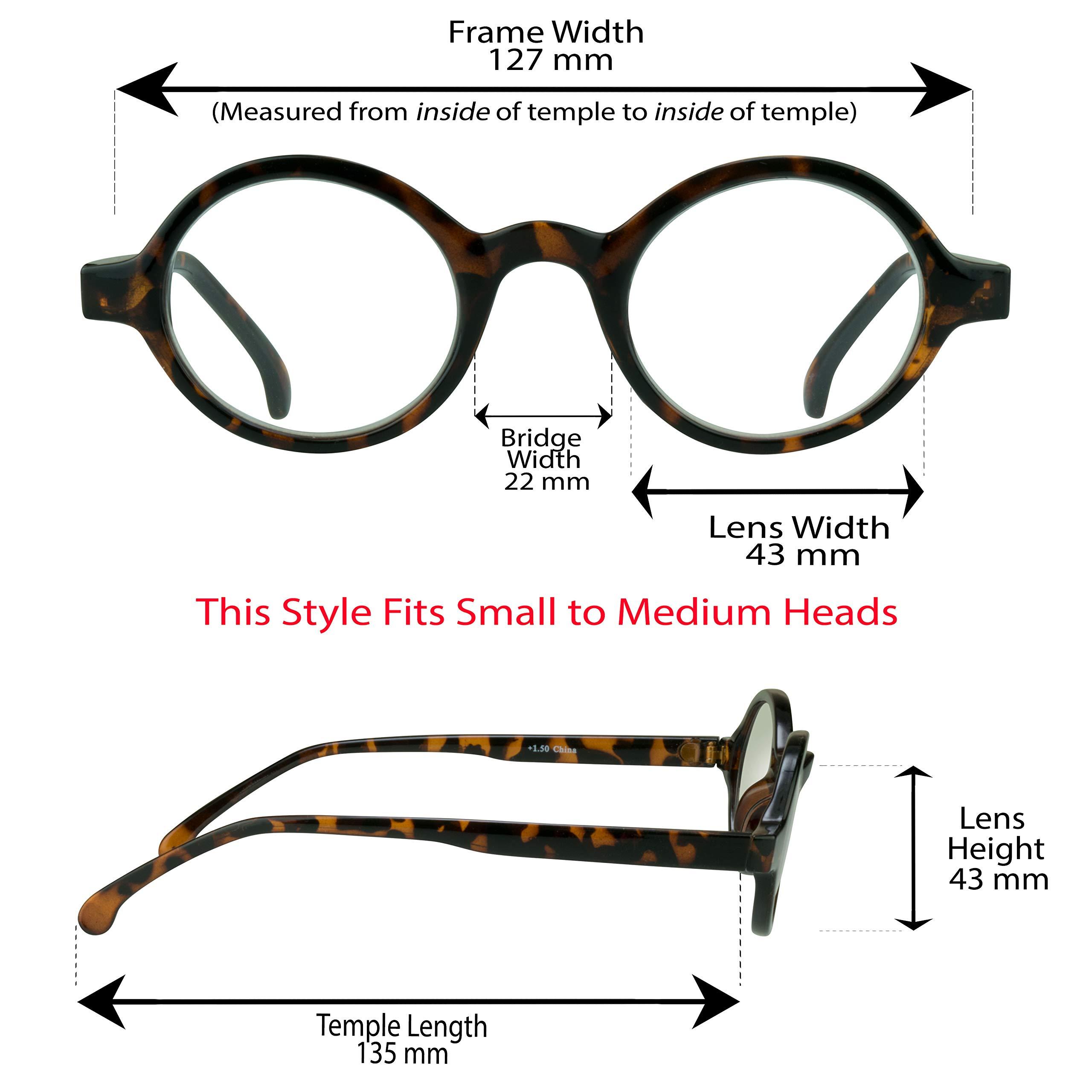 aaf3e485412e Amazon.com  Bikershades  Reading Glasses (full lens)