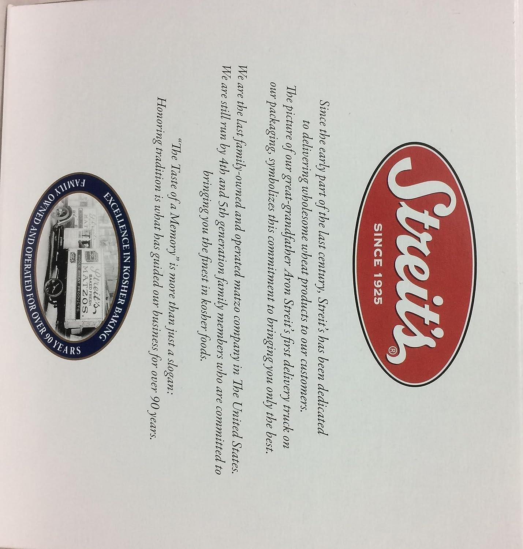 Amazon streits organic matzo kosher for passover 11 oz pk of 3 biocorpaavc