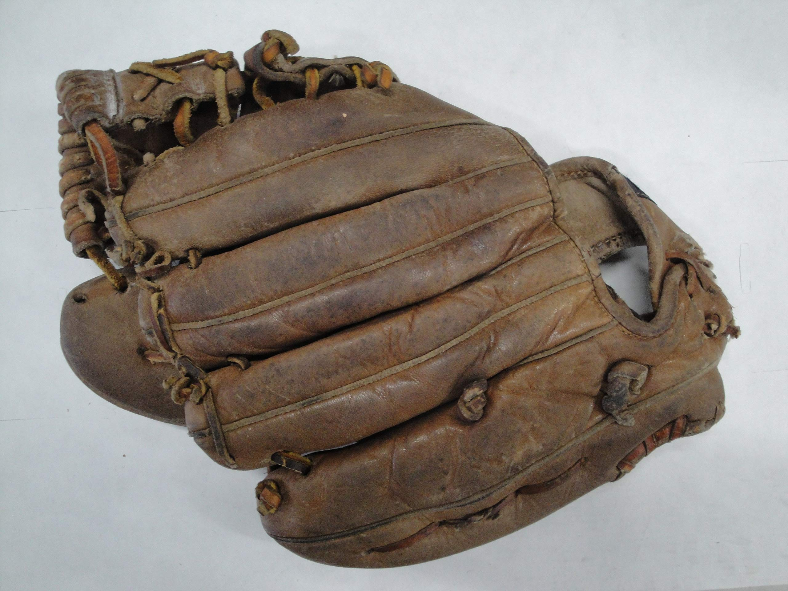 Maury Wills Hand Signed Autograph Signed Vintage Baseball Glove '62 NL MVP 2X GG
