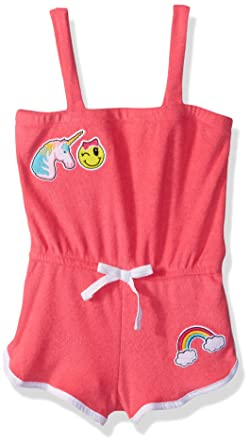 51f226087c77 Amazon.com  Pink Platinum Girls  Terry Romper Cover Up  Clothing