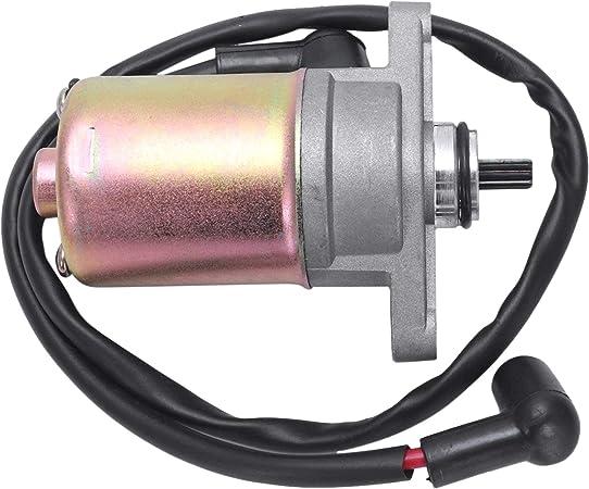 Dulala Anlasser Motorrad Anlasser Elektrostarter Gy6 50cc 80cc Roller Atv Quad Bike Motor Elektrostarter Motor Küche Haushalt