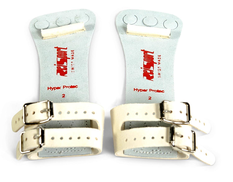 0c36574f65cf Amazon.com : Reisport Men's Protec Hyper Buckle High Bar Grips : Sports &  Outdoors