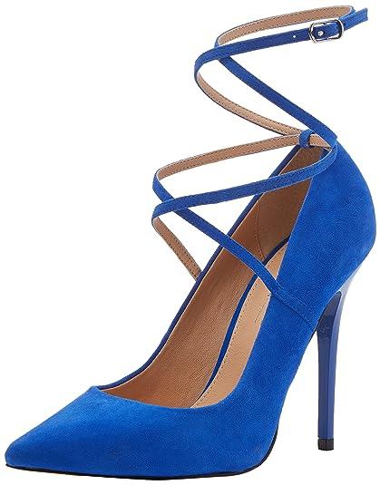 Womens Hilda Ankle Strap Heels Office MQzNr