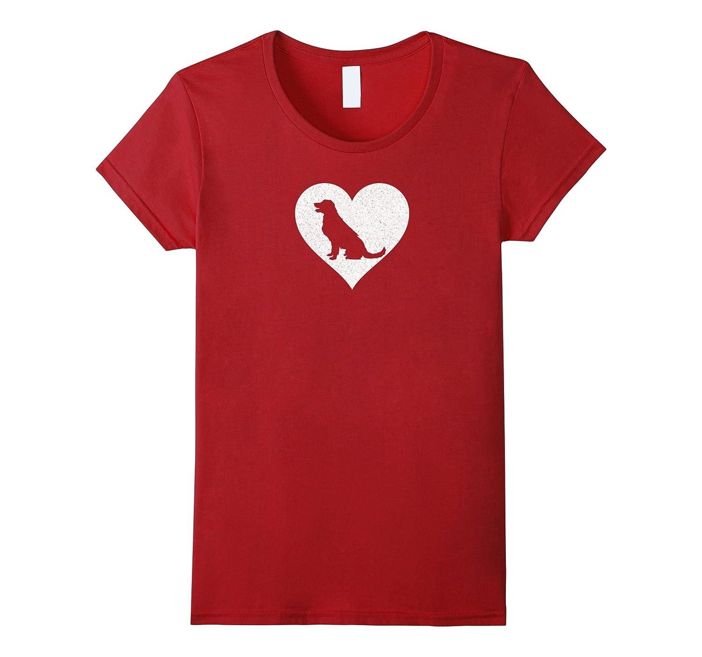 Golden Retriever Shirt Women Cranberry-Xalozy