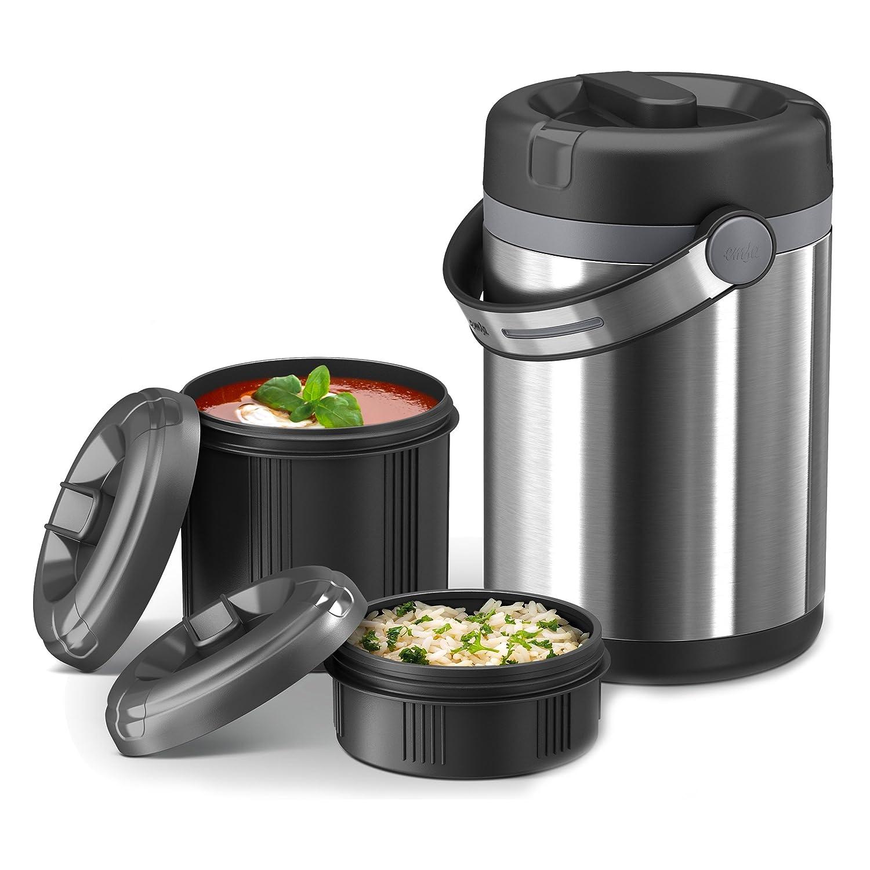 Emsa 509243 Mobility colore: Nero antracite 0,65 L Contenitore per alimenti