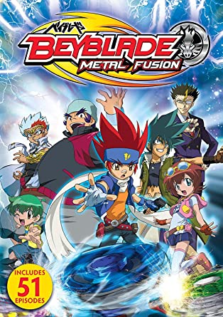 Beyblade Metal Fusion Amazon De Dvd Blu Ray