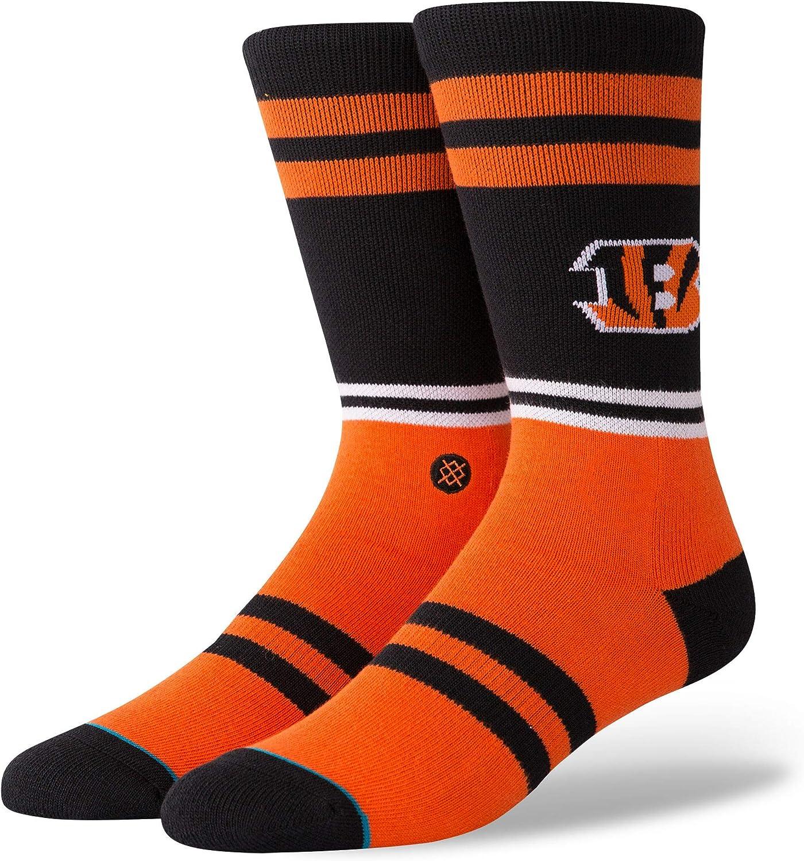 Stance M558C18BES Mens Bengals Logo Sock