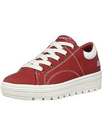 Skechers Womens Street Cleat-Bring It Back Fashion Sneakers