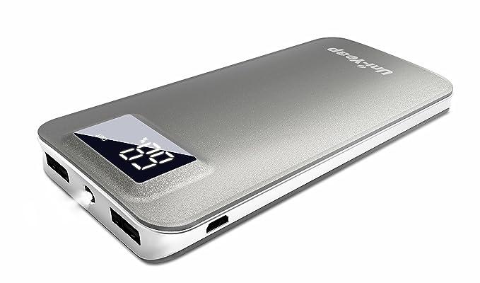 uni-yeap UNI100 11000 mAh batería externa cargador portátil ...