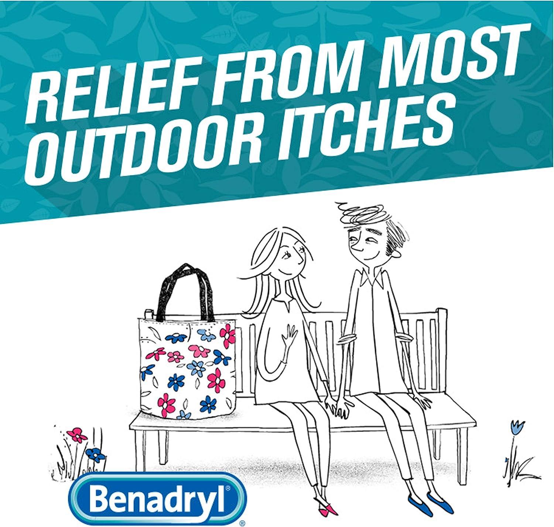 Benadryl Extra Strength Cooling Relief Anti-Itch Gel, Diphenhydramine HCI, 3.5 fl. oz: Health & Personal Care