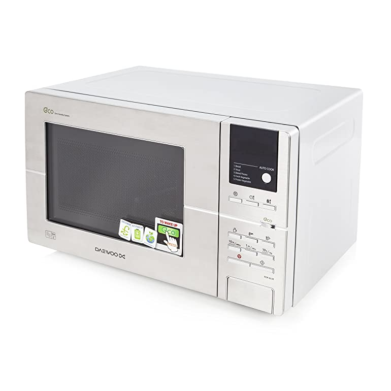 Daewoo kor6l5r digital eco microwave 20 l 800 w stainless daewoo kor6l5r digital eco microwave 20 l 800 w stainless steel amazon kitchen home stopboris Gallery