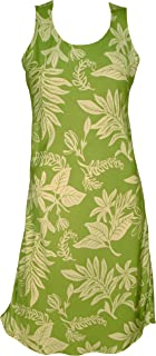 product image for Paradise Found Womens Tiare Short Tank Dress Olive SAGE XL