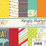 Simple Stories 5322 Let's Party Double-Sided