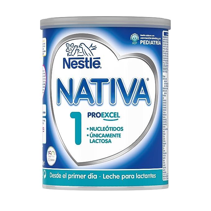 NESTLÉ NATIVA 1 - Desde el primer día - Leche para lactantes en polvo - Fórmula para bebés - 800g: Amazon.es: Amazon Pantry