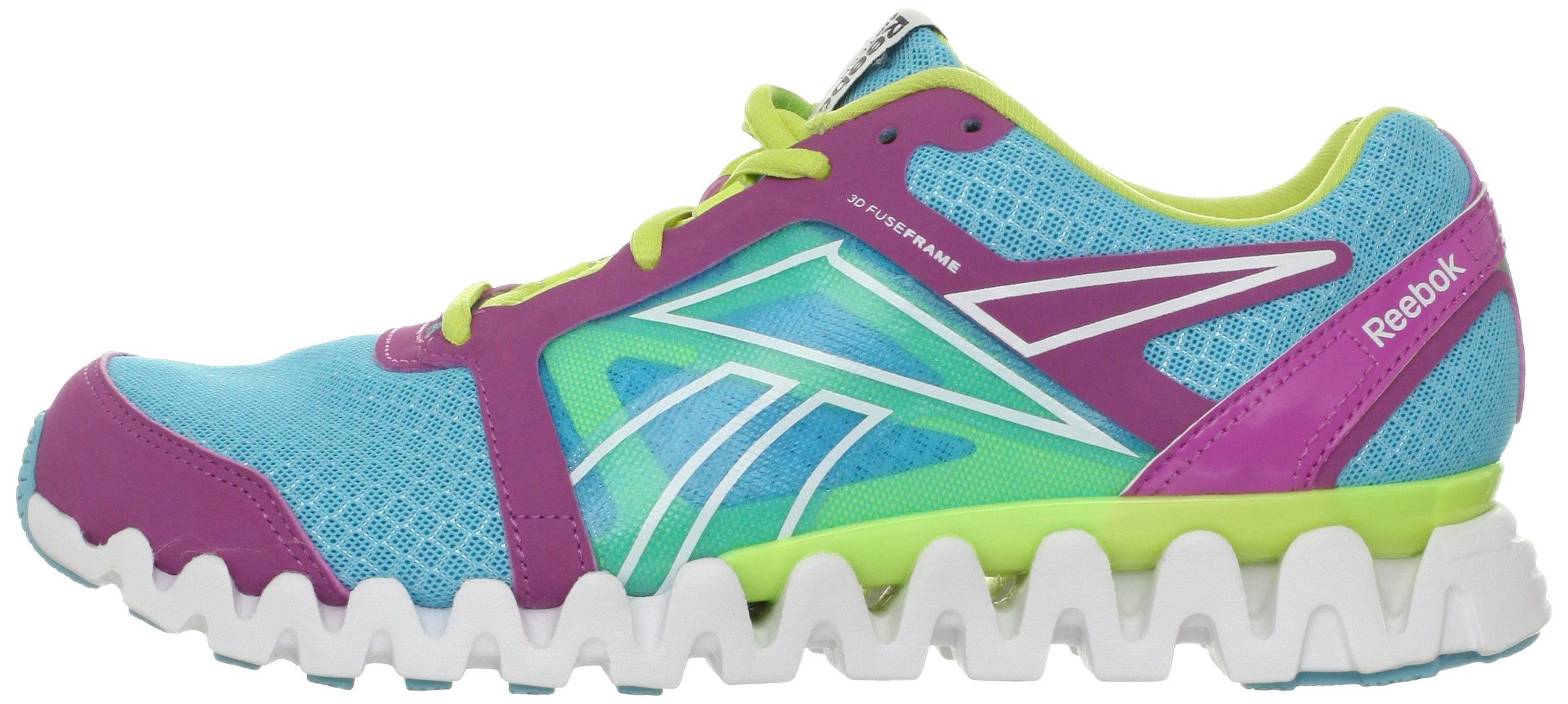 Reebok Women's Zigquick Fire Cross-Training Shoe,Watery Blue/Cool Aloe/Iced Berry/White,10 M US by Reebok (Image #5)